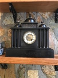 Marble Mantel Clock, bought in England in 1958