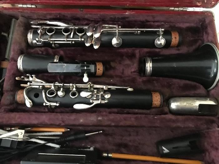 Selmer clarinet - both recorked , repadded/ & new reeds