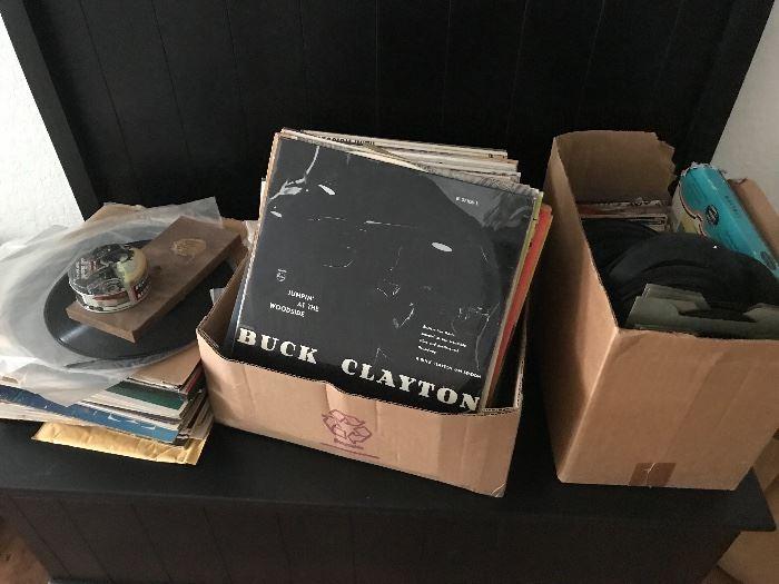 Vinyl records & 45s