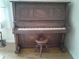 Harvard Upright Piano