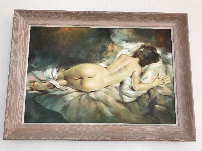 Original art, oil on canvas