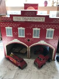 Vintage toy ~ fire department