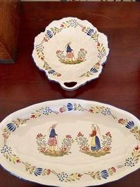 Quimper plates