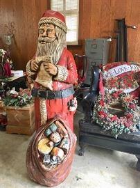 5 ft. tall Santa