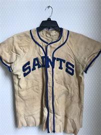 Old baseball uniforms