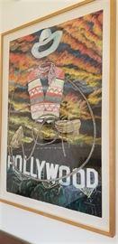 "Charlotte Bender Custom ""Hollywood"" Original Pastel"