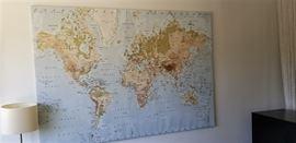 X-Large World Map