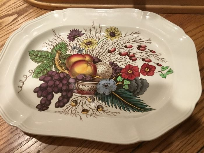Spode Copland Reynolds platter. On replacements.com for $100.   Selling for $70