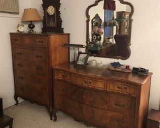 Tiger-Burl Maple by Empire Furniture co, Rockford ,ILL