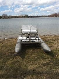 Aluminum Paddle Boat