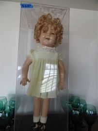 "25"" Shirley Temple doll in excellent condition."