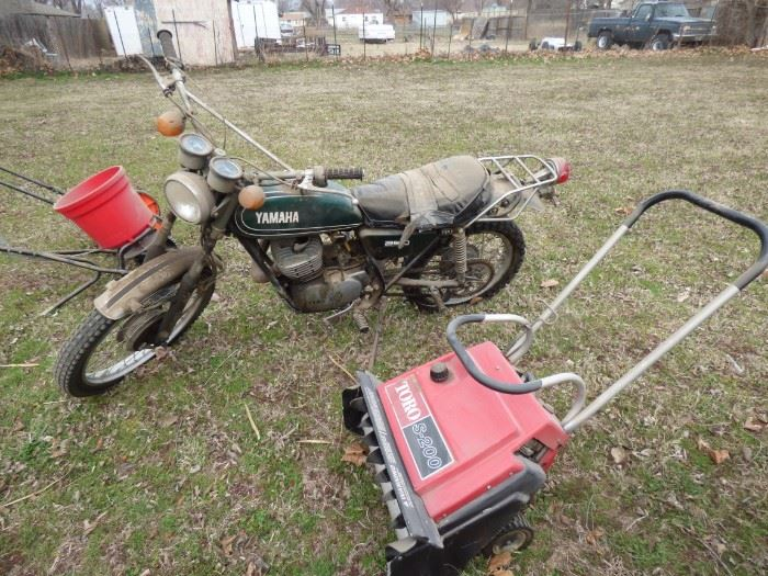 Yamaha motorcycle.