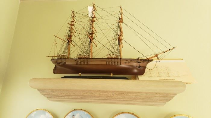 "Ship....wood ""The  Thermopyiae"""