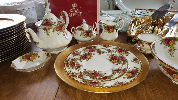 Royal Albert Old Rose priced individually