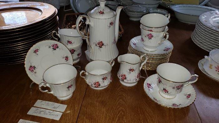 Spode bone china Tea set