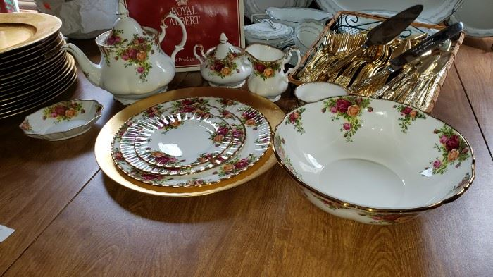 Royal Albert many pieces priced individually