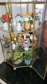 Miniture  porcelain flowers