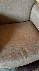 Arm Chair and Ottoman Pattern