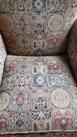 Arm Chair Tapestry Pattern Seat