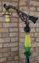 Art Deco Table Lamp Arm Detail