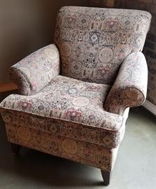 Arm Chair Tapestry Pattern