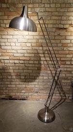 Floor Lamp Brushed Aluminum