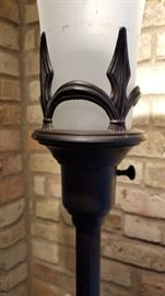 Floor Lamp Trifoot Torchiere Shade Base