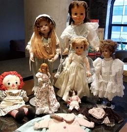 Ideal and Mattel Doll Lot