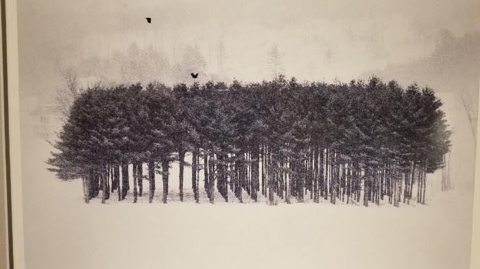 Kuzman Olt TREE STAND Print 137 of 300 Detail