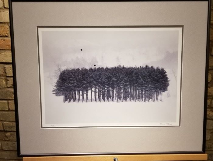 Kuzman Olt TREE STAND Print