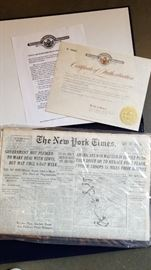New York Times May 4 1943 Newspaper