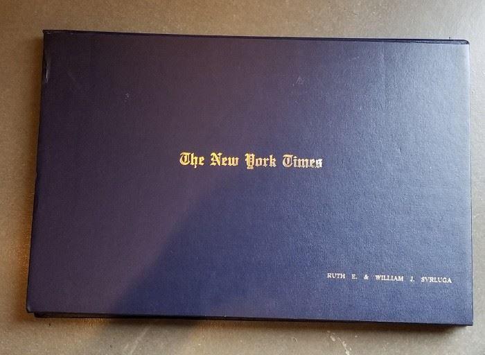 New York Times Portfolio