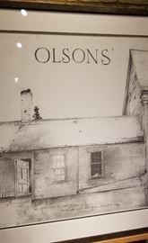 Olsons Farmstead Brandywine River Musuem Print Close