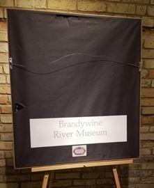 Olsons Farmstead Brandywine River Musuem Print Reverse