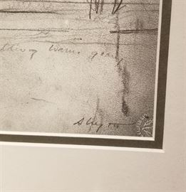 Olsons Farmstead Brandywine River Musuem Print Seal