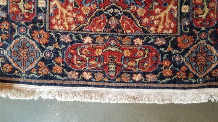 Persian Wool Runner Fringe