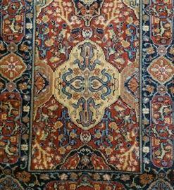 Persian Wool Runner Design Detail