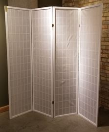 Room Divider Privacy Screen 4 Panel