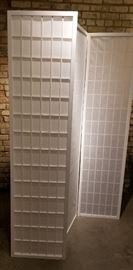 Room Divider Privacy Screen White Paper