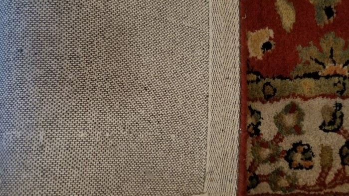 Safavieh Wool Runner Underside