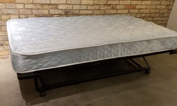 Trundle Bed Mattress and Frame
