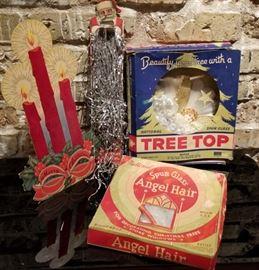Vintage Christmas Decor Collection
