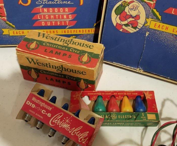 Vintage Christmas Lights a