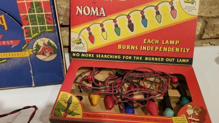 Vintage Christmas Lights Noma