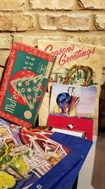 Vintage Daytons and Other Christmas Bags and Boxes