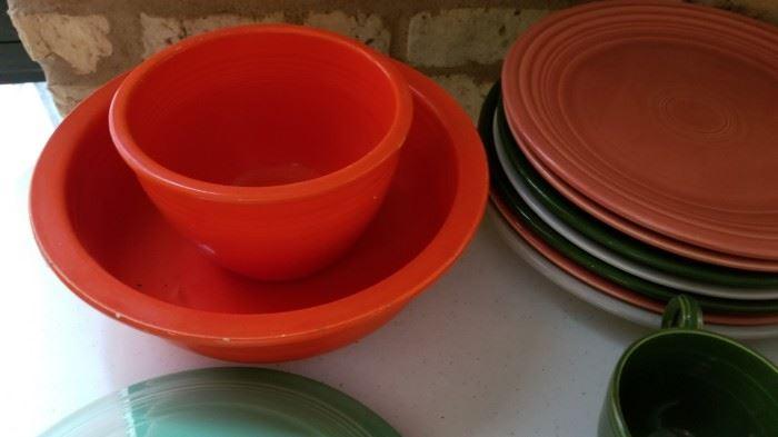 Vintage Fiestaware Fiesta Bowls as is