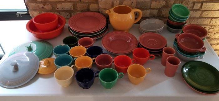 Vintage Fiestaware Fiesta Collection as is