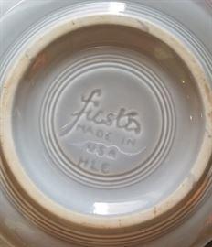 Vintage Fiestaware Fiesta Hallmark