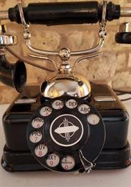 Vintage Telephone Rotary