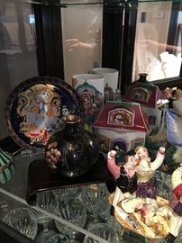 Lots of China, Pottery, sculpture